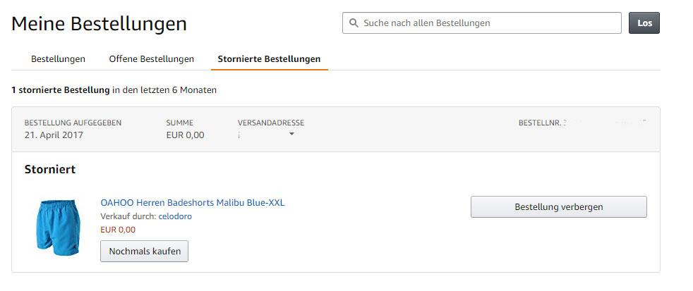 Amazon versand deutschland tracking id