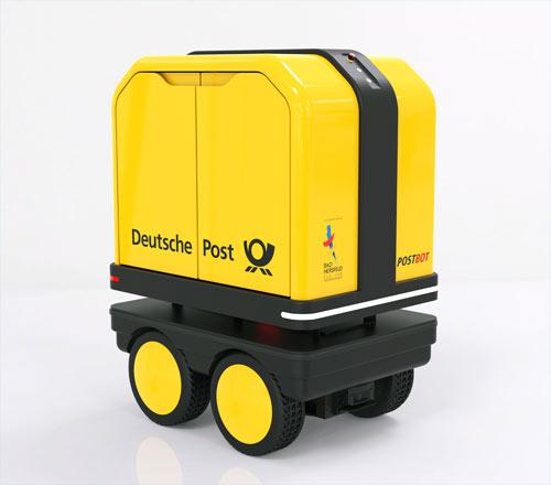 Postbot - Zustellroboter Deutsche Post