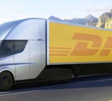 DHL versucht Tesla Elektro-Trucks