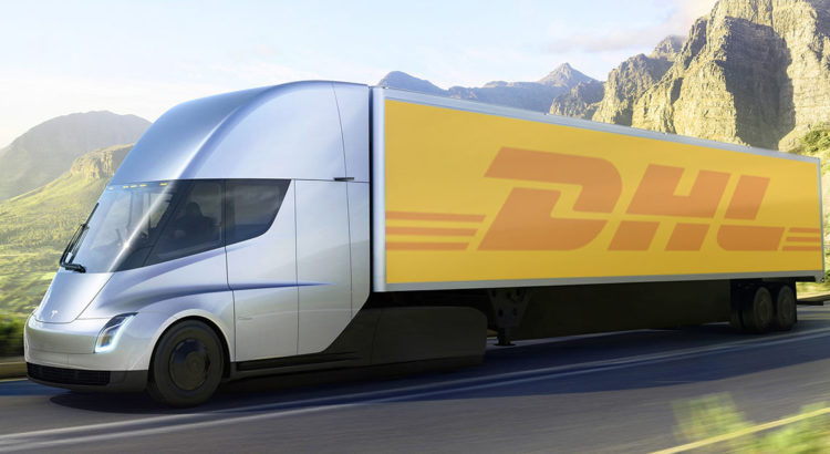 dhl versucht tesla elektro trucks sendungsverfolgung. Black Bedroom Furniture Sets. Home Design Ideas